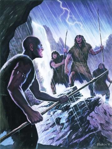 neanderthal_vs__cro_magnon_by_habjan81-d4ifc8x
